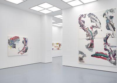 Pia Fries, Installation view, FABELFAKT, 2019, Kunstplast, Dusseldorf