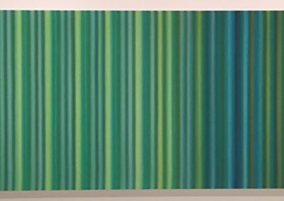 Tim Bavington, Dying Of The Light, 2017, Acrylic on canvas, 24h x 72w in