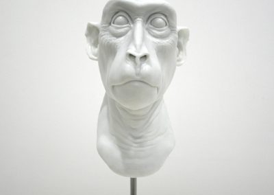 Erick Swenson, Ebie White, 2007, Plastic resin, 16h x 6w x 8d in
