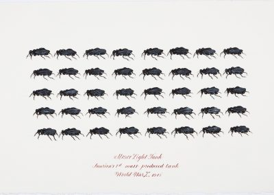 Cynthia Mulcahy, Light Tank