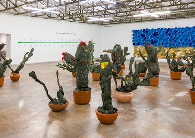 Margarita Cabrera, Installation view, It is Impossible to Cover the Sun With a Finger, 2019, Dallas Contemporary