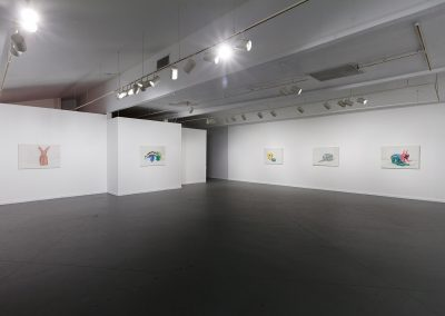 Francesca Fuchs, Installation view, Something, 2018, Art League Houston