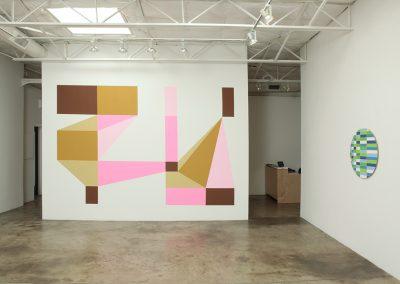 Aaron Parazette, Installation view