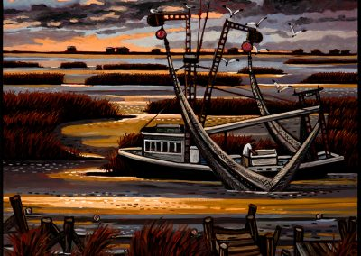 David Bates, Marsh Shrimper, 2015
