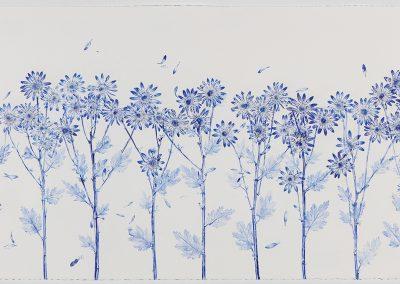 Linda Ridgway, Meadow of Blue