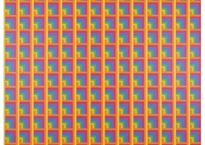 Susie Rosmarin, Pattern Painting #4, 2010, Acrylic on canvas, 21h x 21w in