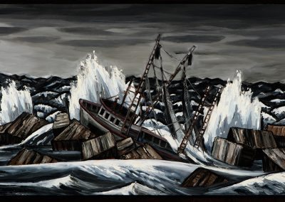 David Bates, Shipwreck, 2015