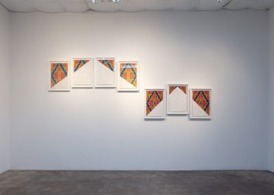 Nida Bangash, Installation view, The History House, 2020, Talley Dunn Gallery