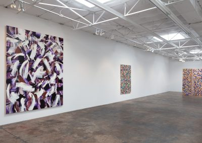 Joseph Glasco, Installation view, Joseph Glasco: Paintings, 2018, Talley Dunn Gallery