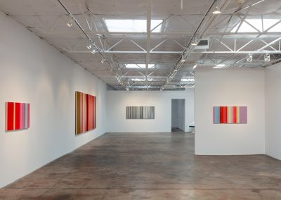Tim Bavington, Installation view, Blow Up, 2018, Talley Dunn Gallery