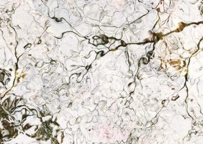 Ori Gersht, White Lines, 2016, Archival pigment print, 39 1/4h x 33 1/2w in
