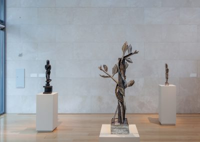 David Bates, Installation view, David Bates, 2014, Nasher Sculpture Center