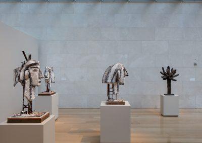 David Bates, Installation view, David Bates, 2014, Nasher Sculpture Center