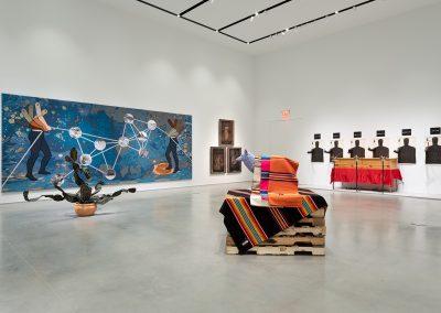 Margarita Cabrera, Installation view, Perilous Bodies, 2019, Ford Foundation Gallery