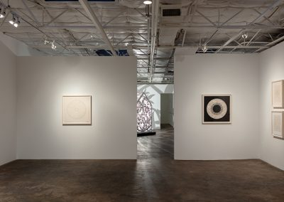 Anila Quayyum Agha, Installation view, Itinerant Shadows, 2019, Talley Dunn Gallery