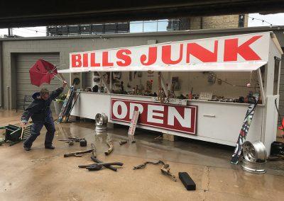 Bill Davenport, Installation view, Bill's Junk Road Show with Bill Davenport, 2019, Talley Dunn Gallery