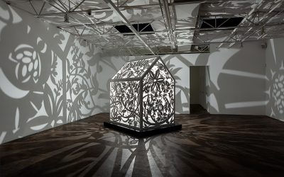 Anila Quayyum Agha's Itinerant Shadows