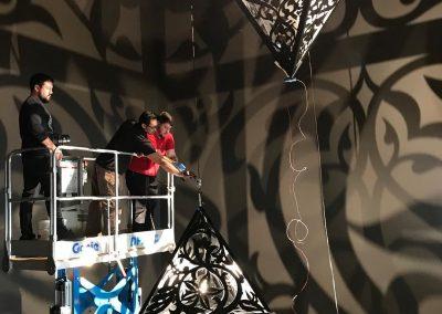 Anila Quayyum Agha, Installation view, Project Atrium: Anila Quayyum Agha, 2018, MOCA Jacksonville