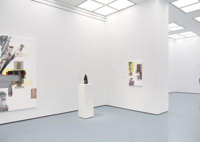 Pia Fries, Installation View, Fabelfakt, 2019, Kunstpalast, Dusseldorf