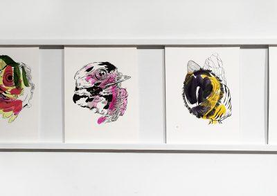 Natasha Bowdoin, Installation view, The Honey and the Root, 2017, The Bascom: A Center for Visual Arts