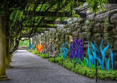 Dale Chihuly, Installation view, Chihuly at the Biltmore, 2018, Biltmore