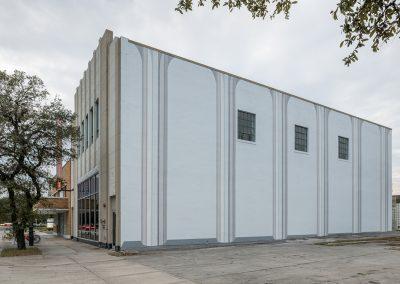 Francesca Fuchs, Installation view, 2018, Lawndale Art Center Mural Project