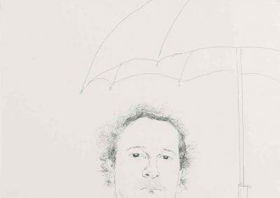 David Hockney, Restauranteur, 1972, Etching, 16h x 13w in