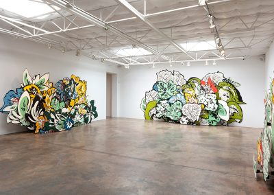 Natasha Bowdoin, Installation view, Seedling, 2019, Talley Dunn Gallery