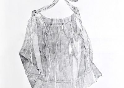 Linda Ridgway, July 25, 1913, 2011, Graphite on paper, 44 1/2h x 30w in