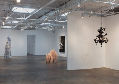 Installation view, Material Presence, 2017, Talley Dunn Gallery