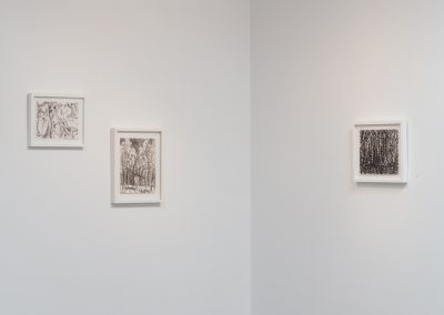 Joseph Glasco, Installation view, Joseph Glasco: Paintings, 2018, Talley Dunn Gallery