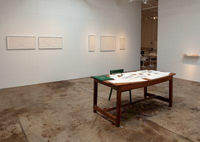 Cynthia Mulcahy, Installation view, War Garden, United States 1917-2017, 2018, Talley Dunn Gallery