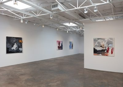 Vernon Fisher, Installation view, The American Landscape, 2017, Talley Dunn Gallery