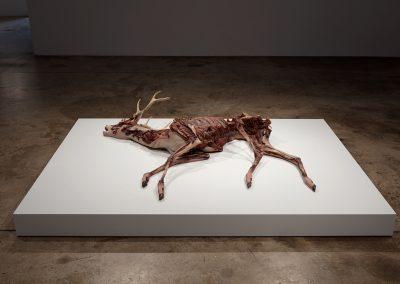 Erick Swenson, Ne Plus Ultra, 2010, Acrylic on resin, MDF, 5h x 72w x 54d in