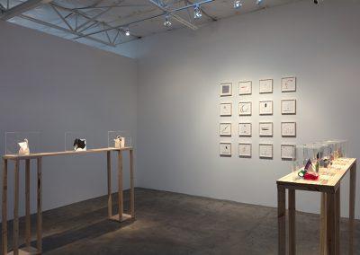 Joseph Havel, Installation view, Mend, 2018, Talley Dunn Gallery