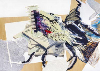 Pia Fries, tisch dover 1, 2006