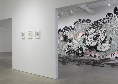 Natasha Bowdoin, Installation view, Lunar Spring, 2017, Visual Arts Center of Richmond