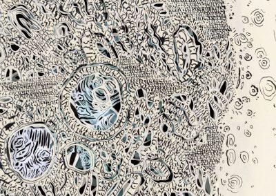 Natasha Bowdoin, Installation view, Lunar Spring, 2017, Visual Arts Center of Richmond