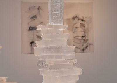 Joseph Havel, Portrait of the Artist as an Old Brick, 2013, Cast polyurethane resin, 24h x 13w x 12d in