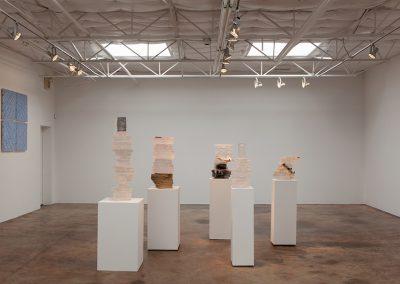 Joseph Havel, Installation view, Stacks, 2014, Talley Dunn Gallery