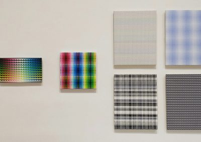 Susie Rosmarin, Installation view, Lines and Grids: The Lost Decade and Beyond, 2016, Contemporary Arts Museum Houston