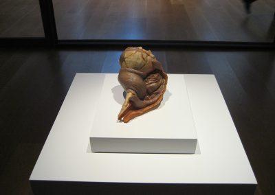 Erick Swenson, Scuttle, 2012, Acrylic on resin, 4 1/2h x 7w x 4 1/2d in