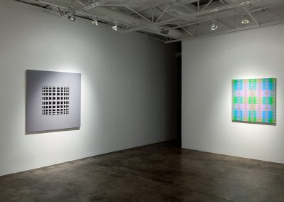 Susie Rosmarin, Installation view, Some New Paintings, 2014, Talley Dunn Gallery