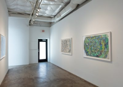 Sam Revels, Installation view, Poulaphouca, 2019, Talley Dunn Gallery