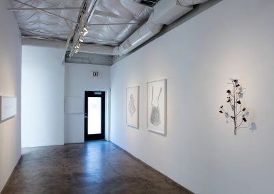 Linda Ridgway, Installation view, With or Without, 2016, Talley Dunn Gallery