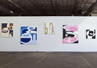 Aaron Parazette, Installation view, Aaron Parazette, 2011, Dallas Contemporary