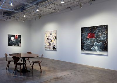 Installation View, Dark Waves Rising, 2019, Talley Dunn Gallery
