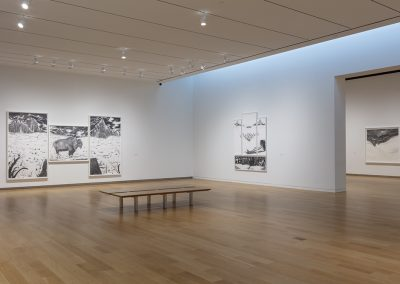 Installation View, WE, THE MASSES, 2019, Modern Art Museum of Fort Worth, Photograph by Kevin Todora, Courtesy of the Modern Art Museum of Fort Worth.