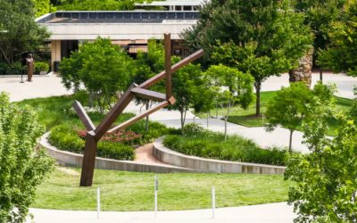 Two Major Sculptures land at UT Southwestern through Talley Dunn Gallery and Nobel Laureate Dr. Joseph L. Goldstein