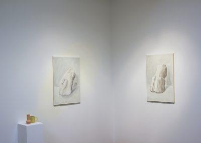 Francesca Fuchs, Installation View of Arrangement 2, 2020, Talley Dunn Gallery
